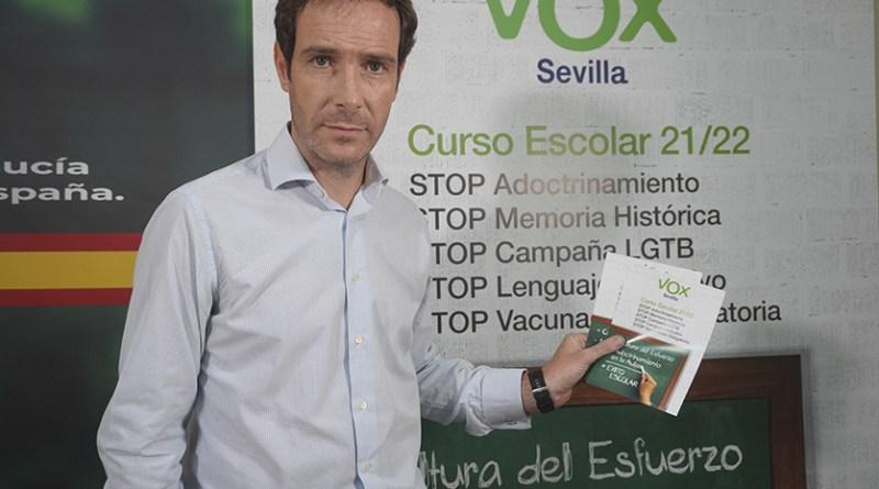 Campaña de VOX Stop Adoctrinamiento