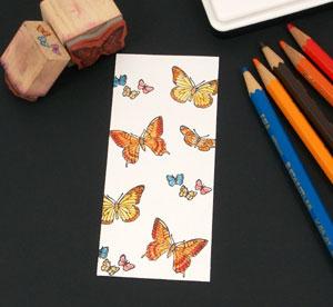 Decorate bookmark front