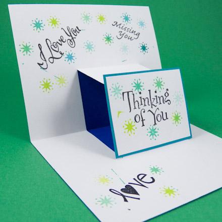 Card Making Idea Step Pop Up Card Tutorial Greeting Card Class 2 Aunt Annie39s Crafts