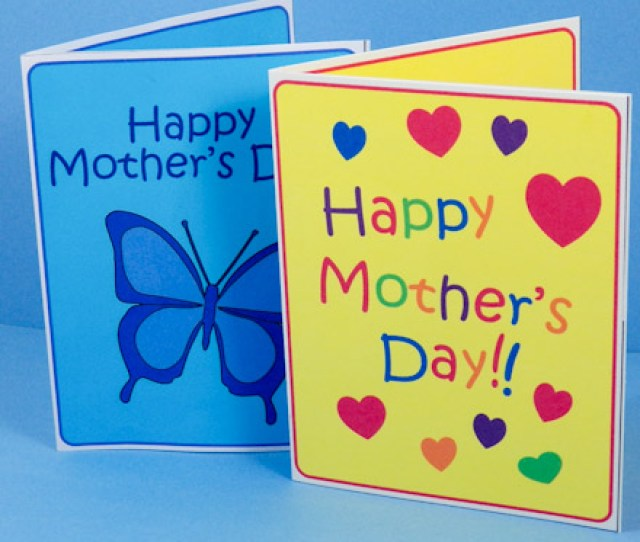 Are You Ready Okay Get Started Fronts Of Mothers Day Pop Up Cards