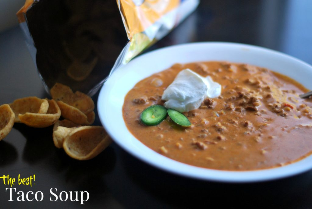 The Best Taco Soup   Aunt Bee's Recipes