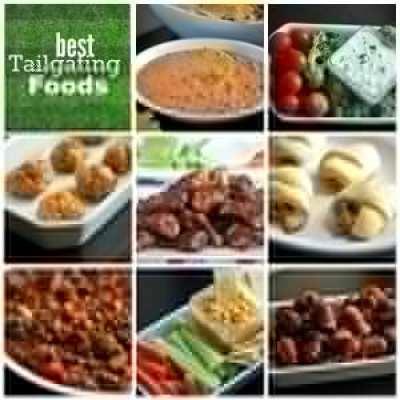 football-food-collage
