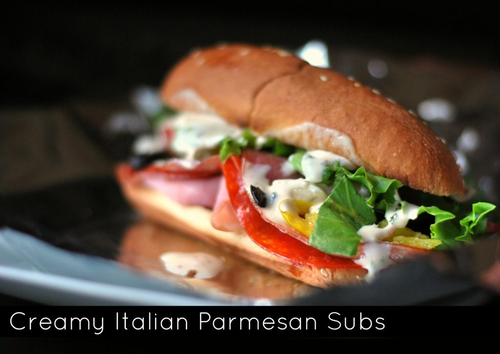 Creamy Italian Parmesan Subs | Aunt Bee's Recipes