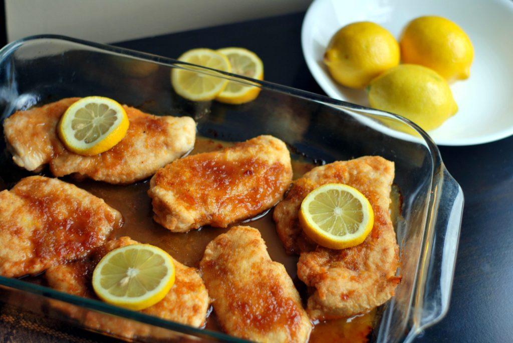 Brown Sugar Lemon Chicken | Aunt Bee's Recipes