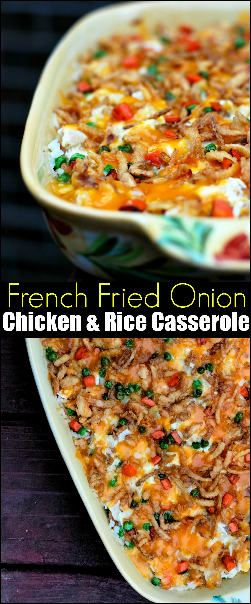 French Fried Onion Chicken Rice Casserole Aunt Bee S Recipes