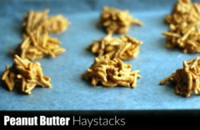 Peanut Butter Haystacks | Aunt Bee's Recipes