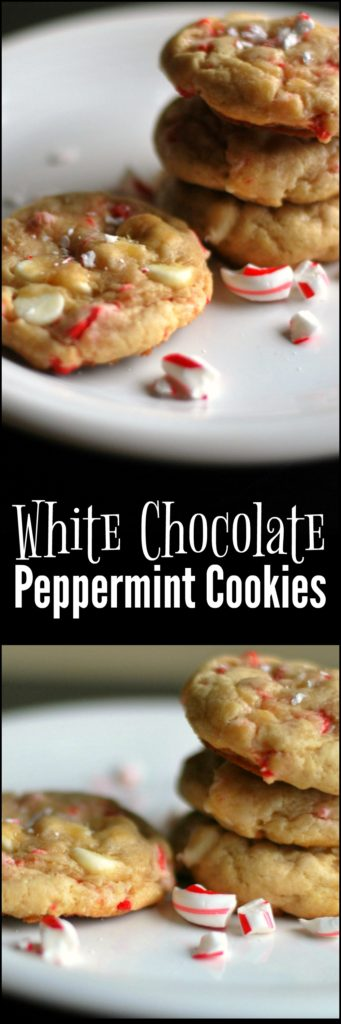 White Chocolate Peppermint Cookies   Aunt Bee's Recipes