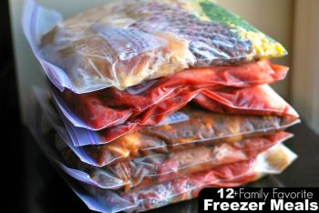 12+ Family Favorite Freezer Meals   Aunt Bee's Recipes