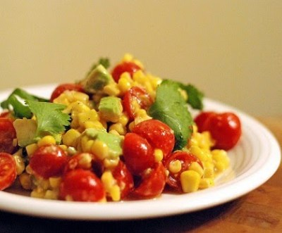 Corn & Avocado Salad | Aunt Bee's Recipes