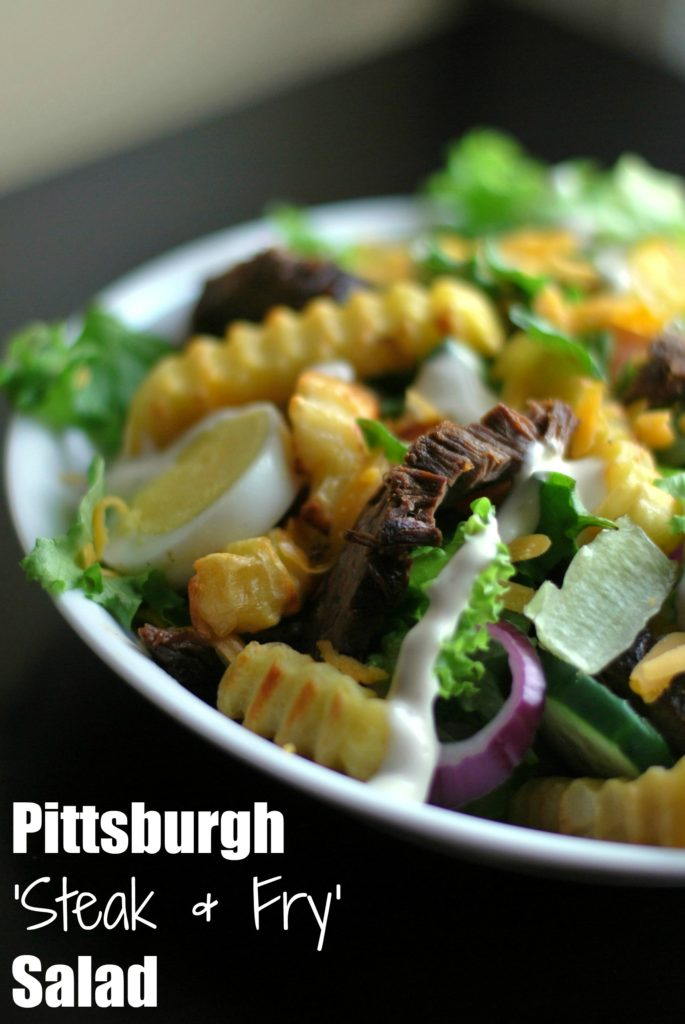 Pittsburgh Salad | Aunt Bee's Recipes