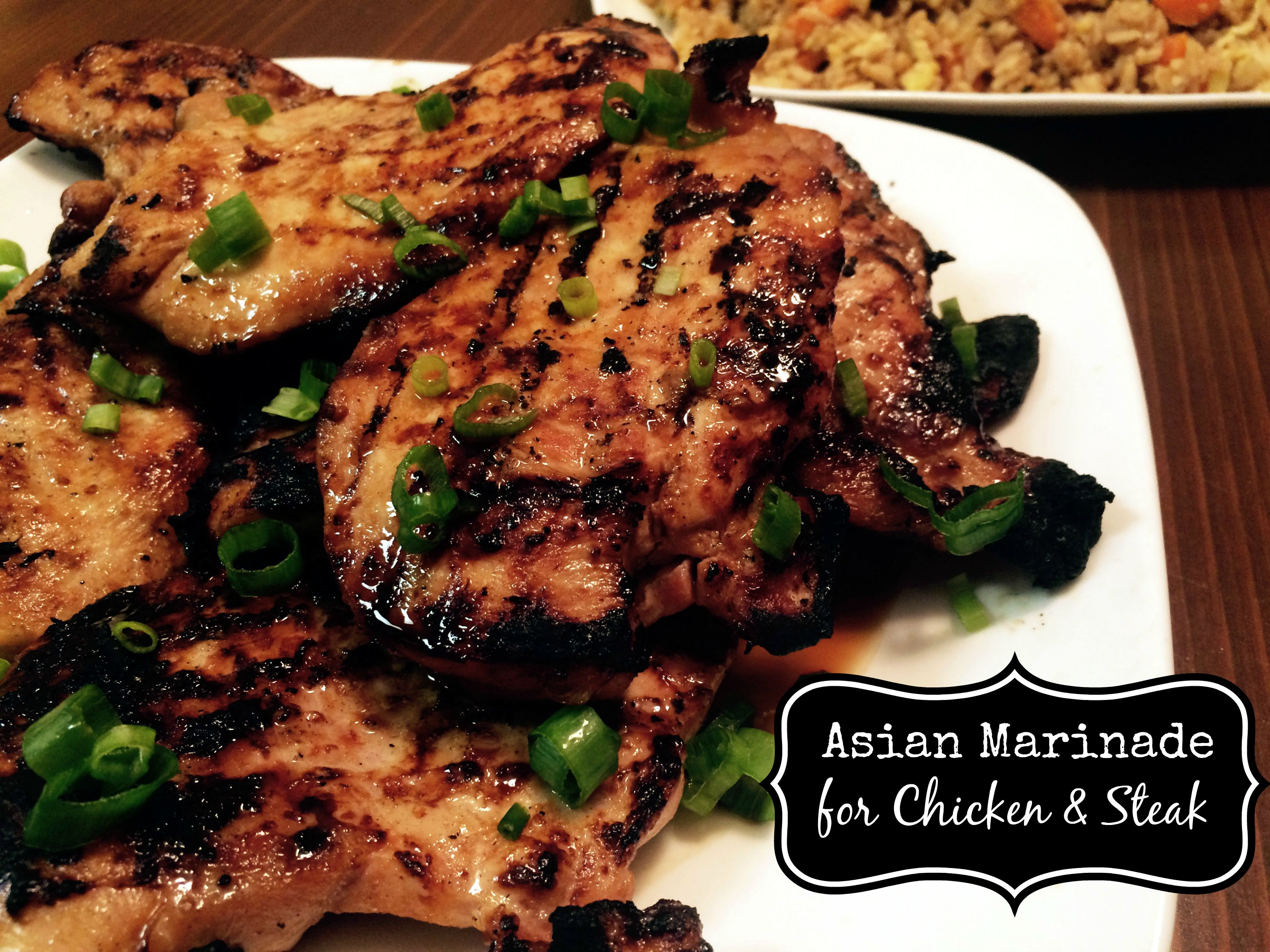 Easy Asian Marinade for Chicken & Steak
