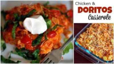 Chicken and Doritos Casserole | Aunt Bee's Recipes