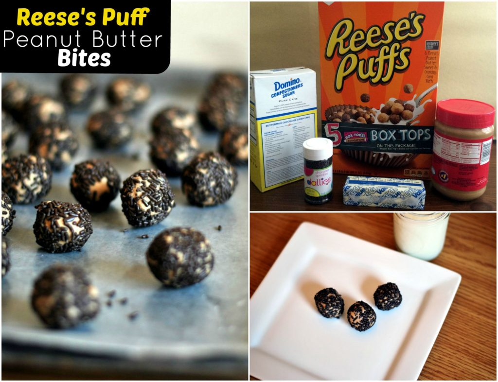 Reese's Puff Peanut Butter Bites | Aunt Bee's Recipes