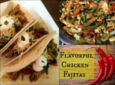 Flavorful Chicken Fajitas | Aunt Bee's Recipes
