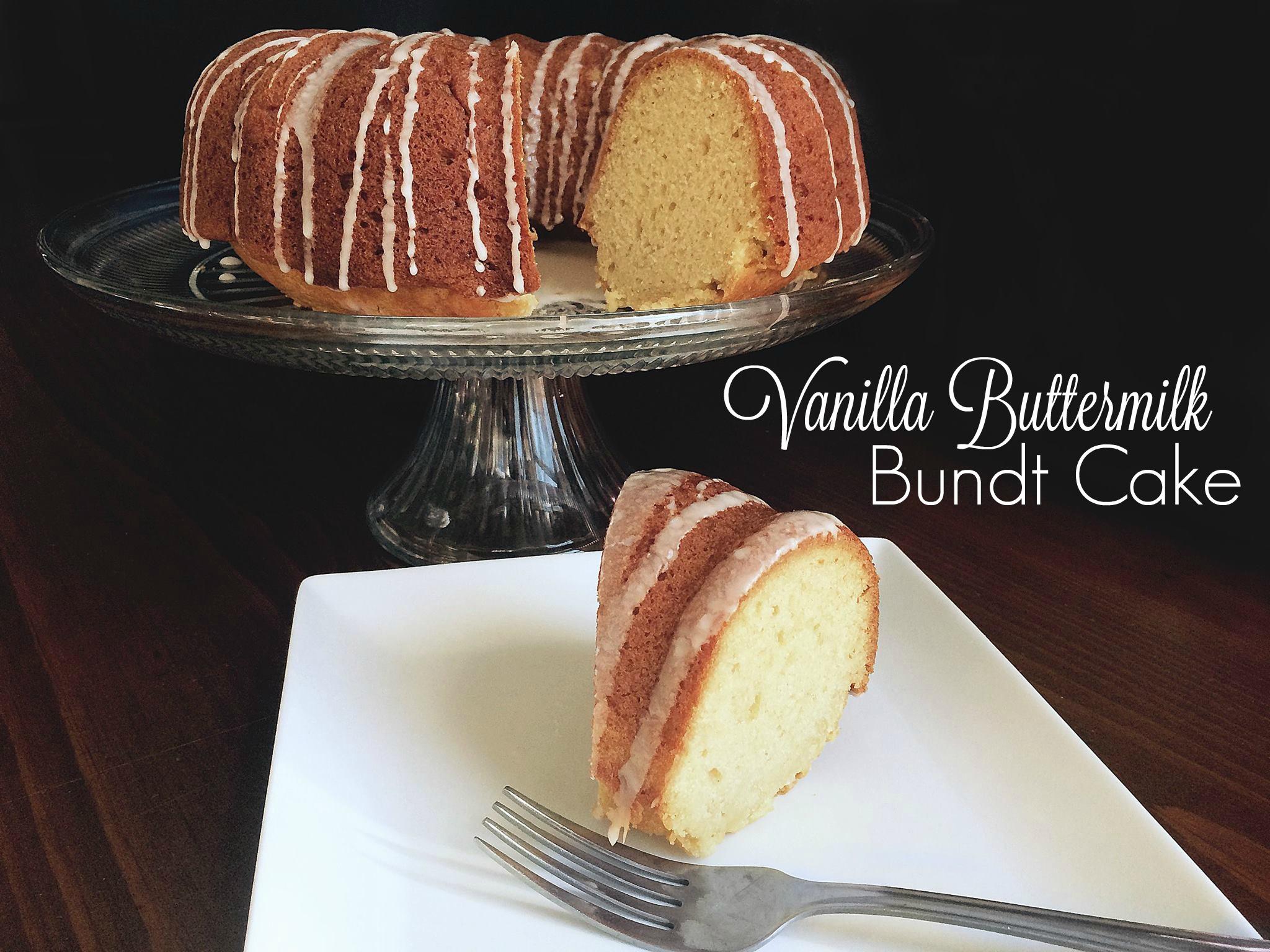 Vanilla Buttermilk Bundt Cake Aunt Bee S Recipes