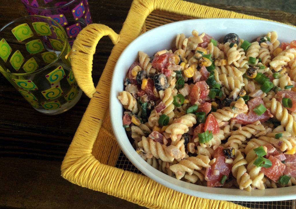Southwest Pasta Salad | Aunt Bee's Recipes