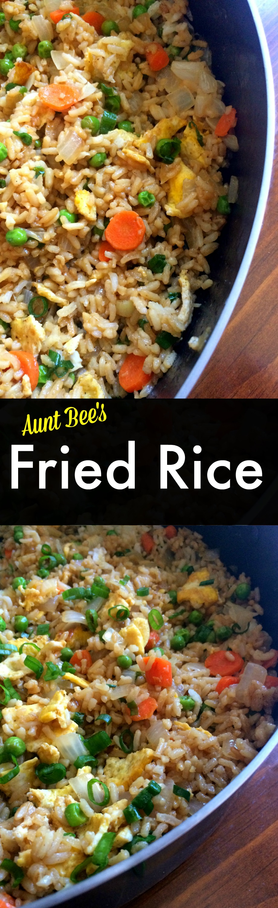 Fried Rice Aunt Bee S Recipes