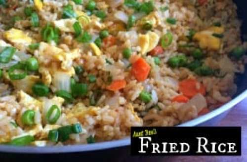Fried Rice | Aunt Bee's Recipes