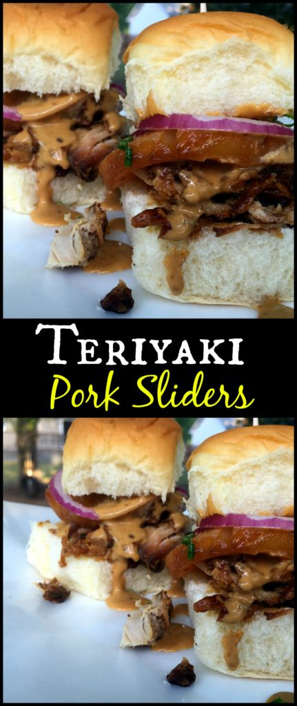 Teriyaki Pork Sliders | Aunt Bee's Recipes