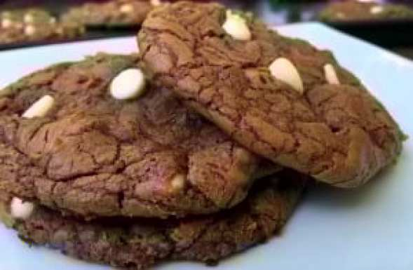 Double Chocolate Brownie Cookies | Aunt Bee's Recipes