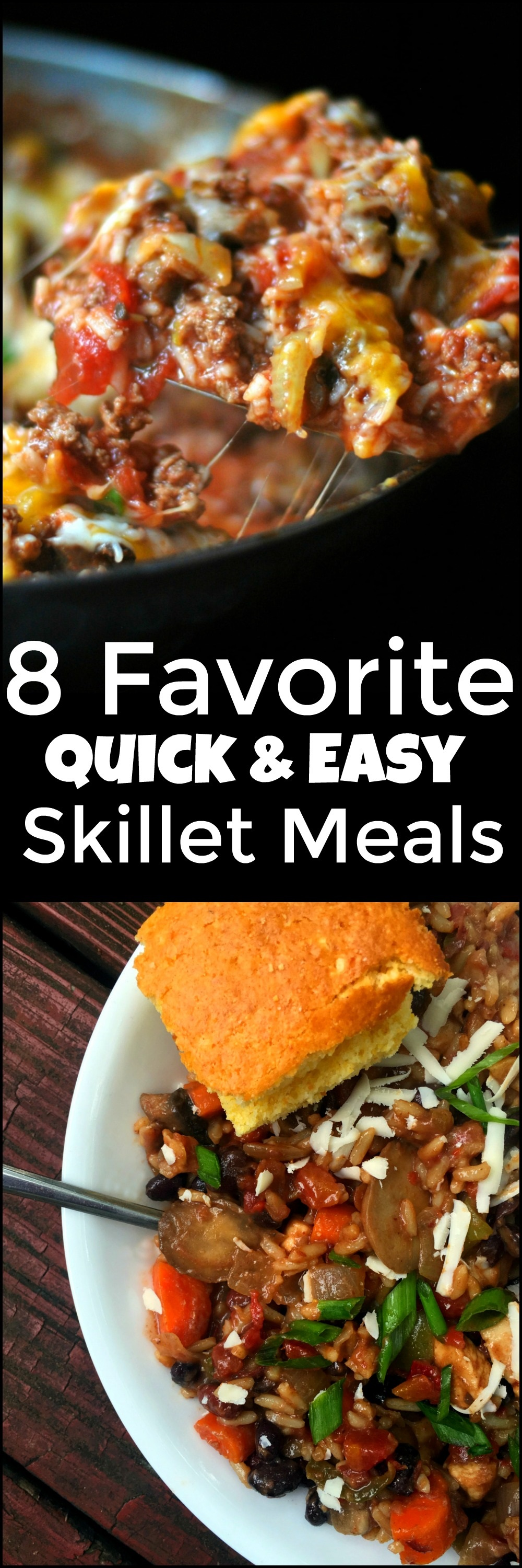 Quick Easy Makeup Tips Ideas For Work: Favorite Quick & Easy Skillet Meals