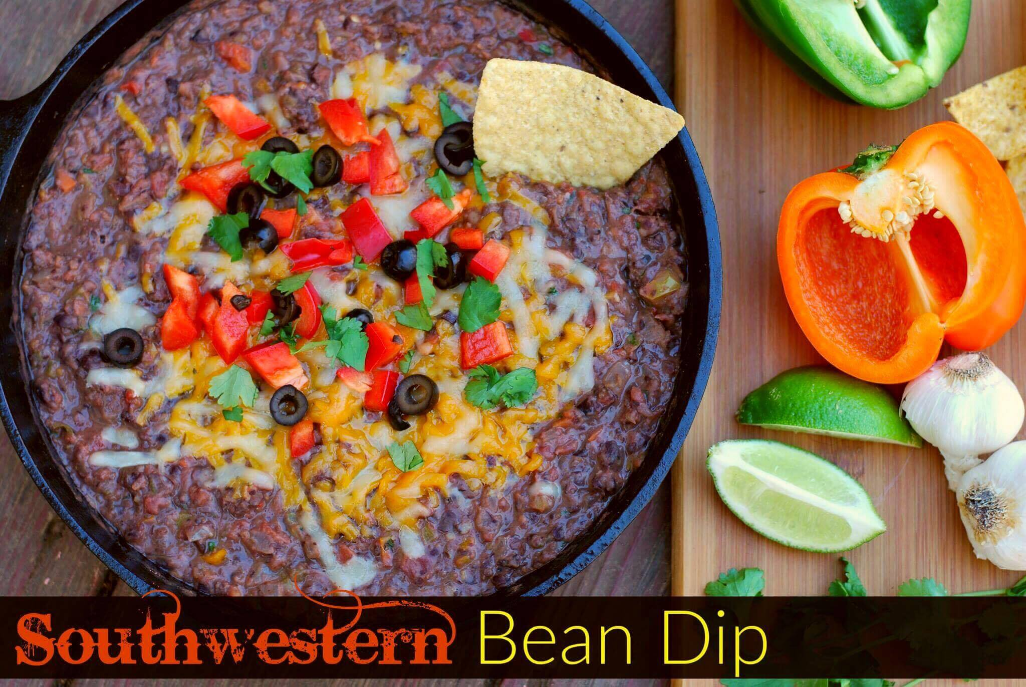 Southwestern Bean Dip