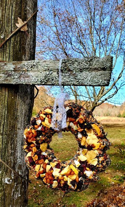 Birdseed Wreath 6