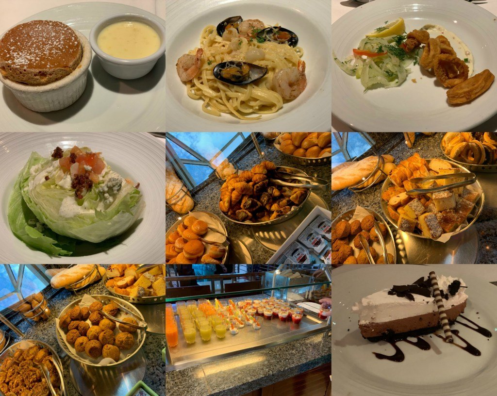 cruise food collage 1
