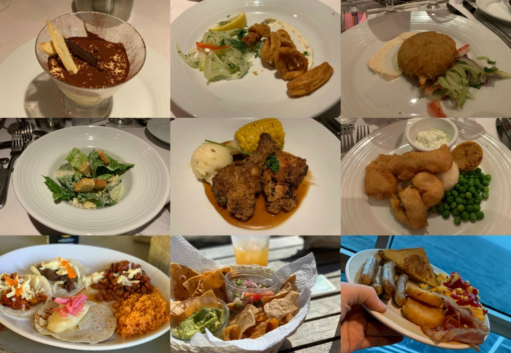 cruise food collage 3