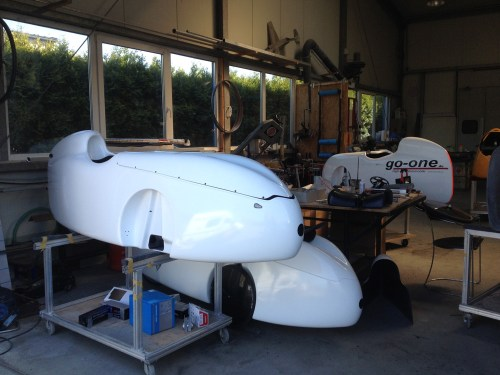 Go-One Velomobile Workshop