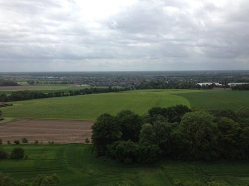 14 Sonsbeck Aussichtsturm View Sonsbeck