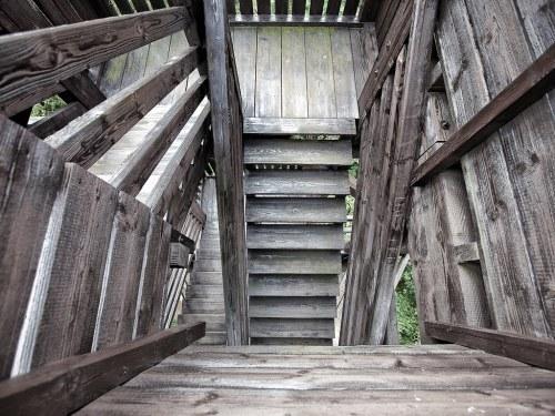 17 Sonsbeck Aussichtsturm View Stairs