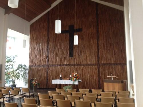 Friedenskirche Grefrath Interior 1