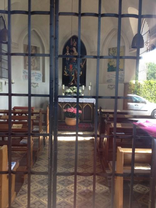 Inside Maria-Hilf Kriegergedächtniskirche