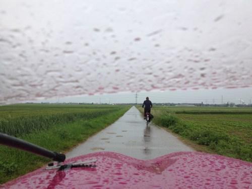 Rainy ride to Uerdingen
