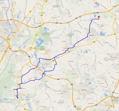Track to Brueggen