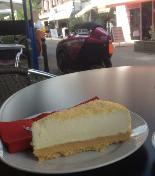Cheesecake and trike in Anrath