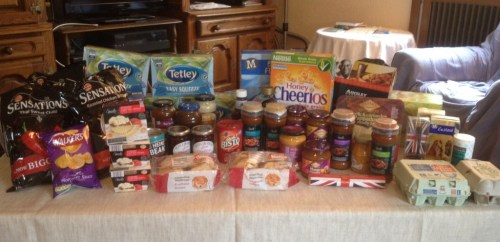 Food stores from England