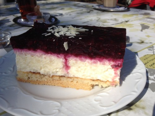 Waldbeere Rice Cake