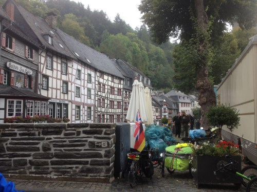 Bridge over the Rur in Monschau