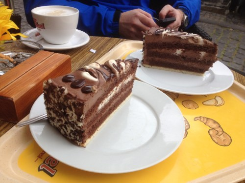 Cake in Monschau