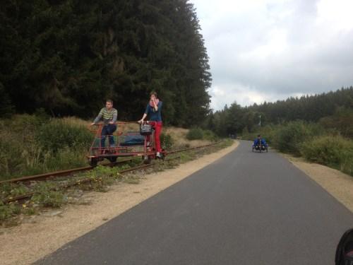 Train bike