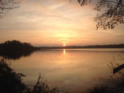 Krickenbecker See Sunset 29 Nov