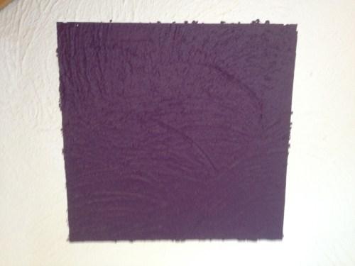 Blobby lilac square