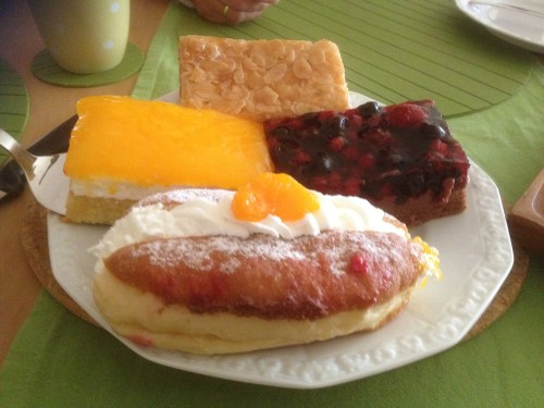 Plate of cakes 1
