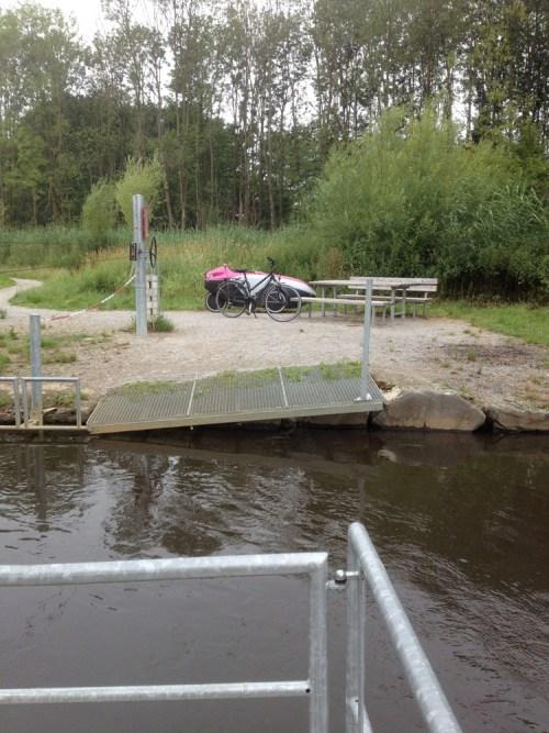 Bikes at Wachtendonk ferry