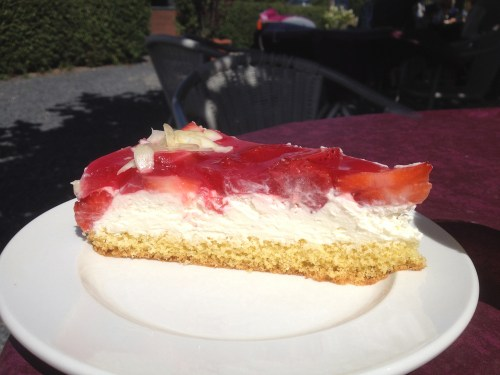 Erdbeer Schmand Kuchen
