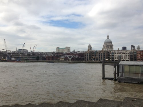 St Pauls and Wobbly Bridge