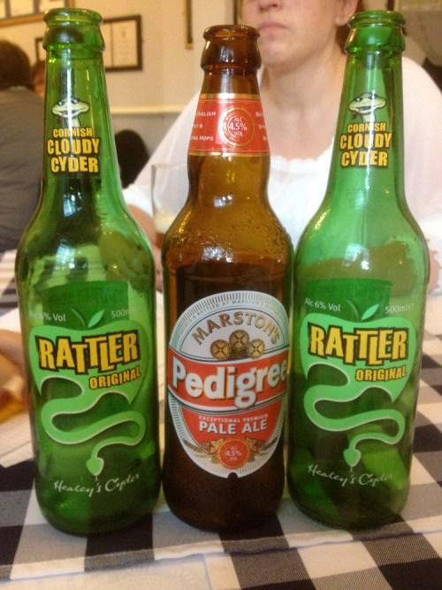 English drinks