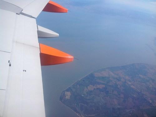 Flying over Walton Frinton Clacton